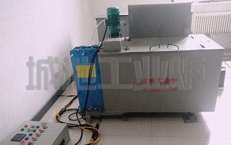全自动液压实验淬火油槽